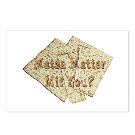Matza Matter Mit You? Postcards (Package of 8)