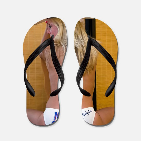 Naked Cowgirl - Go Topless Flip Flops