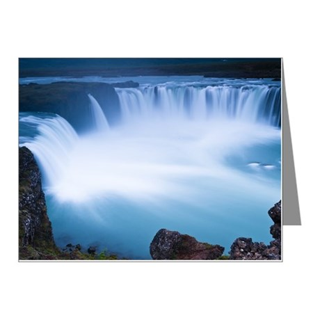 Godafoss, one of largest wat Note Cards (Pk of 10)
