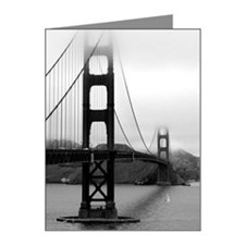 Golden Gate Bridge Note Cards (Pk of 10)