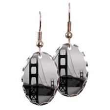Golden Gate Bridge Earring