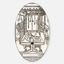 15th century surgical equipment, ar Decal