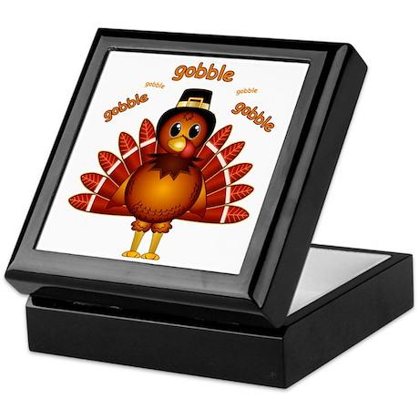 Gobble Gobble Turkey Keepsake Box