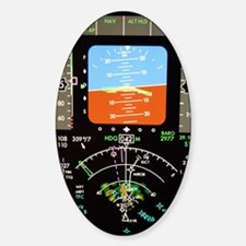 Aeroplane control panel display Decal