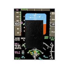 Aeroplane control panel display Picture Frame