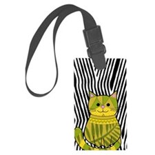 Jungle Cat Luggage Tag