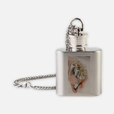 Blood samples Flask Necklace