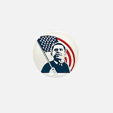 Obama Forward Flag Mini Button