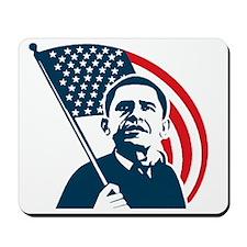 Obama Forward Flag Mousepad