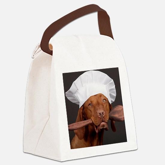 vizsla chef Canvas Lunch Bag