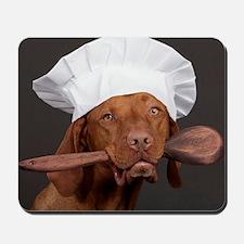 vizsla chef Mousepad