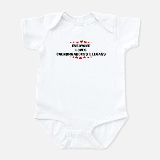 Loves: Caenorhabditis Elegans Infant Bodysuit