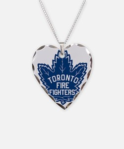 Toronto Fire Fighters Maple L Necklace