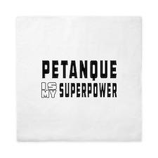 Pentaque Is My Superpower Queen Duvet