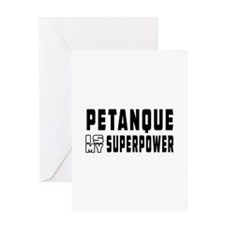 Pentaque Is My Superpower Greeting Card