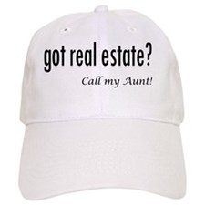 got real estate? Aunt Baseball Cap