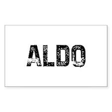Aldo Rectangle Decal