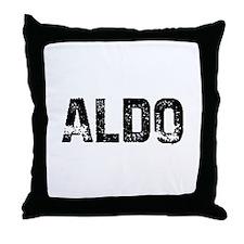 Aldo Throw Pillow