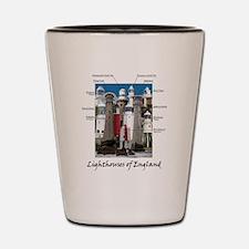 Lighthouses of England Shot Glass