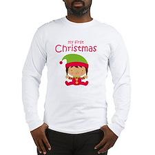 Latina First Christmas Long Sleeve T-Shirt