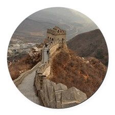 Great Wall of China in Beijing, c Round Car Magnet