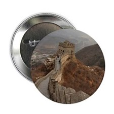 "Great Wall of China in Beijing, china 2.25"" Button"