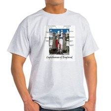 Lighthouses of England T-Shirt