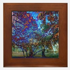 11:11AddisonTrees Framed Tile