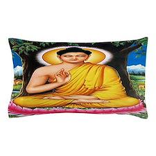 Buddha Car Flag Pillow Case