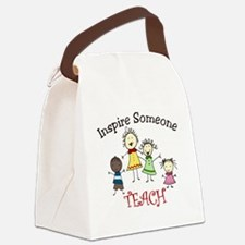 Inspire Someone Canvas Lunch Bag