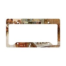 Carl Larsson: Christmas Eve License Plate Holder