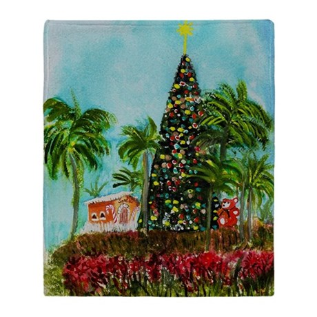 100 Foot Christmas Tree Throw Blanket by ADMIN_CP17933207