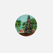 100 Foot Christmas Tree Mini Button