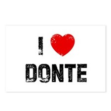 I * Donte Postcards (Package of 8)