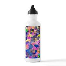 Caffeine crystals, lig Water Bottle