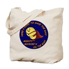 Mighty Microbe! Tote Bag