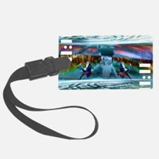 1111_fishes Luggage Tag