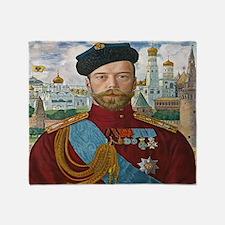 Tsar Nicholas II Throw Blanket