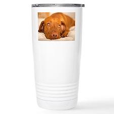 dreamy dog Travel Coffee Mug
