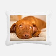 dreamy dog Rectangular Canvas Pillow