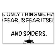 Fear itself and spiders Decal