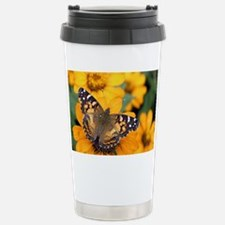 American Painted Lady B Travel Mug