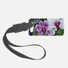 Pink Orchid Luggage Tag