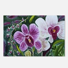 Pink Orchid Postcards (Package of 8)