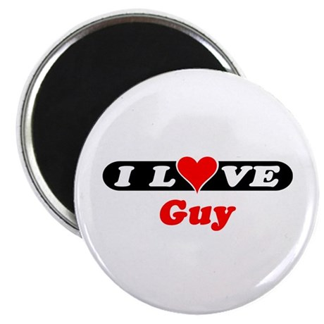 I Love Guy Magnet