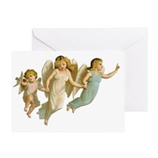 Angel Children Greeting Card