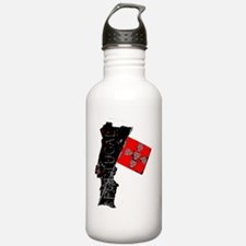Portugal Map Water Bottle