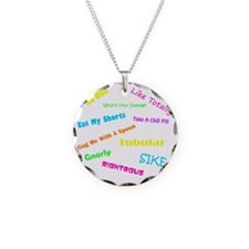 80s Phrases Necklace