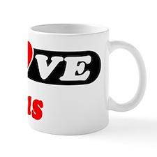 I Love Gus Mug