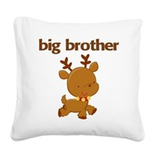 Christmas Big Brother Square Canvas Pillow